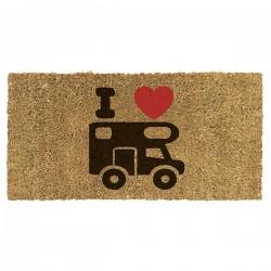 Doormat Coco Flock with...