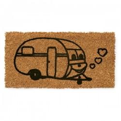 Door mat with Coco Flock...
