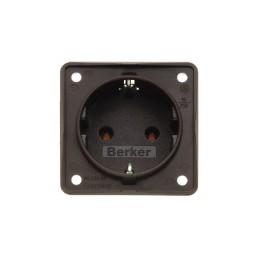 Socket outlet. 230V, brown,...