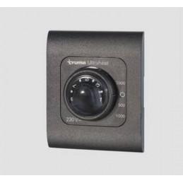 Control panel Ultraheat, black