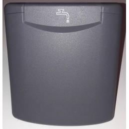 Water tank grommet, Dark grey